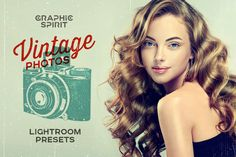 Monday Mania! Free Graphics!! Vintage Photos Lightroom Presets Set by GraphicSpirit on @creativemarket