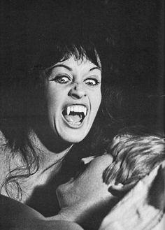 "Classic Horror: ""Scars of Dracula"" Vampire Dracula, Vampire Love, Female Vampire, Vampire Girls, Dracula Film, Vampire Bat, Hammer Horror Films, Hammer Films, Vampires And Werewolves"