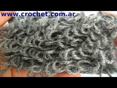 Punto Rulo o Boucle en tejido crochet tutorial paso a paso. - Mashpedia Video