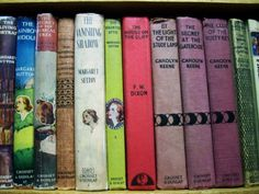 Fond Memories. I loved Nancy Drew mysteries when I was a kid!  I started out with The Bobsey Twins, then graduated to Nancy Drew.