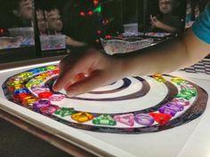 Epic Childhood - Reggio, Light Table Play, and Light Play: Light table exploration Sensory Lights, Geometric Solids, Overhead Projector, Licht Box, Light Board, Light Panel, Sensory Table, Spiral Pattern, Reggio Emilia