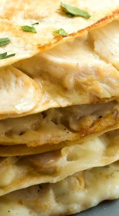 Chicken Alfredo Quesadillas                                                                                                                                                                                 More