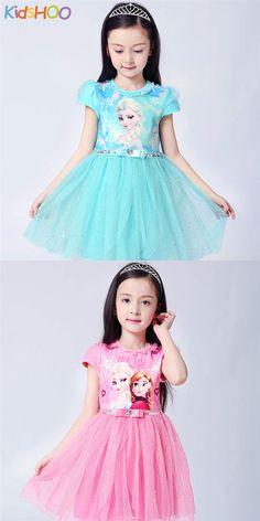 Toddler Girls Frozen Elsa Sequins Princess Tutu Dress Princess Tutu, Disney Princess, Girl Tutu, Tutus For Girls, Elsa Frozen, Toddler Girls, Cute Dresses, Designer Dresses, Harajuku