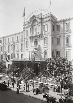 Shepherd's Hotel Cairo, Egypt 1920-1933