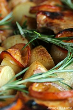 Chicken and Potato Bake with Meyer Lemons | Super easy to make and utterly delicious!