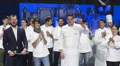 S.Pellegrino Young Chef 2016 Mitch Lienhard shares his thoughts after winning #SPYoungChef 2016, while chef mentor Dominique Crenn looks on >> https://www.finedininglovers.com/stories/s-pellegrino-young-chef-2016-winner-mitch-lienhard/