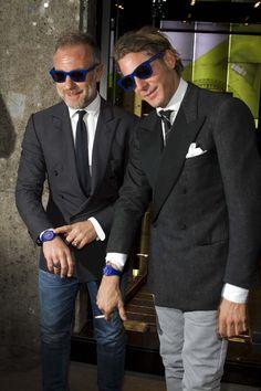 Lapo Elkann & Gianluca Vacci