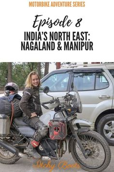 Overlanding Asia by motorbike - riding India's North Eastern States Nagaland and Manipur Off Road Adventure, Adventure Travel, Himalayan Royal Enfield, Motorcycle Wallpaper, Bmw Cafe Racer, Moto Bike, Biker Girl, Motorcycle Girls, Clothing Labels