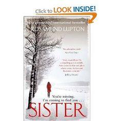 Sister, Rosamund Lupton - Book Club?