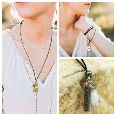 97392a2e2473 Delicados colares ajustáveis para proteção, boa sorte e equilíbrio  energético. Nas versões Palo Santo