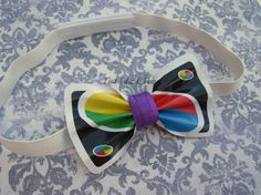 Custom newer style UNO Playing Card bow by CreativelyEverAshley (formerly Tied Tutus & Things) on Etsy