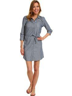 $64 Calvin Klein Jeans Petite Petite Stripe Dress