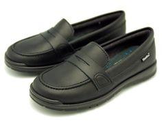 Tienda online de calzado infantil Okaaspain. Calidad al mejor precio fabricado en España. Mocasín colegial con antifaz de piel lavable.