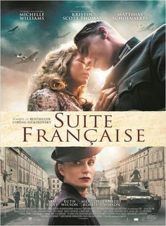 New Movie Suite Francaise (2015 )Based on the best-selling book by Irene Nemirovsky and set during the German occupation of France in the 1940's, Suite Française tells the story of Lucille Angellier...