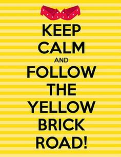 ... Follow The Yellow Brick Road