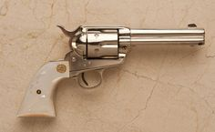 ❦ Colt .45 Caliber Single Action Army Revolver          Sold for $ 4,600