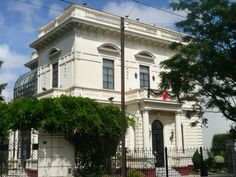 La casa de la Villa - Villa Devoto Mansion que pertenecio a la familia inglesa Huxable. Construida a fines del siglo XIX.