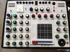 Vintage Original EMS Synthi AKS synthesizer