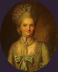 1778 Marie Angélique de Fitte by Alexis Huin (Musée des Arts décoratifs de Strasbourg - Strasbourg France)