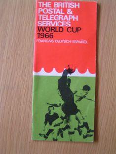 1966 World Cup Post and Telegraph Handbook