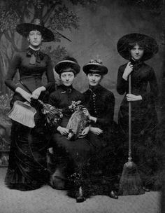 Witches.. one even has her vehicle in the picture:)