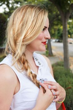 DIY (Do it Yourself) Loose Side Braid — My Stiletto Life #beauty #diy