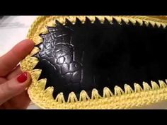 Tutorial borsa in cordino con patella della Fata Tuttofare con cordino Tessiland - YouTube