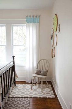 No-Sew Curtain How-to