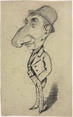ART & ARTISTS: Claude Monet - caricatures to show kids