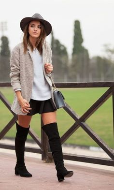 Classy thigh high boots
