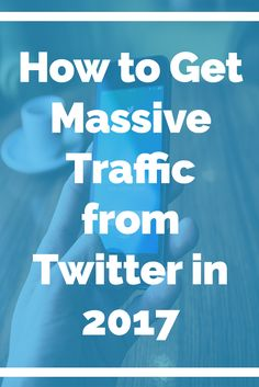 How to Get Massive Traffic from Twitter in 2017  Finding traffic for your website is a nerve wrecking task, especially finding free traffic. As you may already know I love using social media as a great source for free traffic.  http://youngonlinebizman.com/traffic-generation/get-massive-traffic-from-twitter-2017/