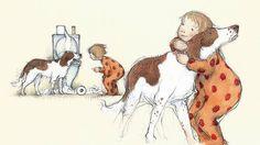 Freya Blackwood illustration | An illustration taken from The Runaway Hug by Nick Bland and Freya ...