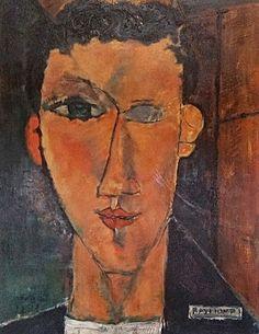 Portrait des Raymond nach Modigliani