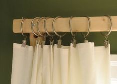 diy - Cheap and simple curtain rods