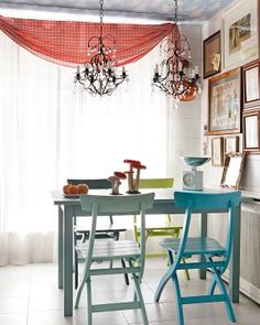 Mixing Traditional And Modern Yellow Table Wire Dining Room Beauteous Wire Dining Room Chairs Design Inspiration