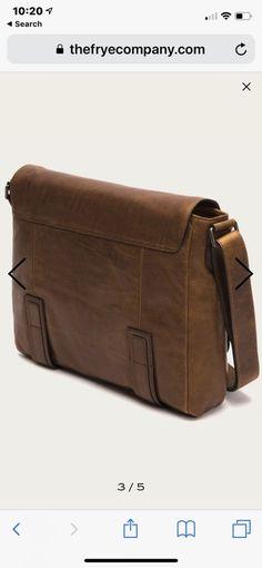 02e5272cbaa5 Frye Men s Logan Italian Leather Messenger Bag - DB791-COG - Cognac Brown   fashion