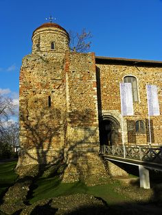 Colchester Castle, Essex, 1069AD, The Keep is the largest ever built in Britain
