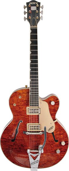 A 1960s Gretsch Country Gentleman.