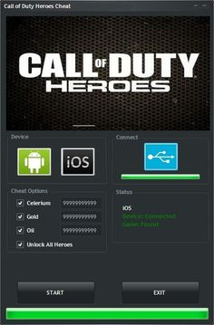 Here is what you searched - Call of Duty: Heroes Hack Unlimited Celerium. The 2017 version of Call of Duty: Heroes Hack Unlimited Celerium finally working.