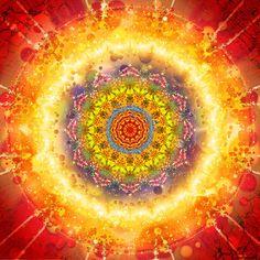 Flower Chakra Mandala by Gabriel