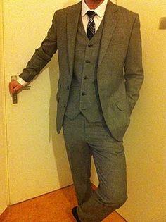 Indochino 3-piece tweed suit. 500 bucks.