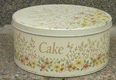 Retro Worcester Ware Cake Storage Tin.     VARIOUS ITEMS VINTAGE KITCHENALIA TALA SKYLINE NUTBROWN ENAMEL TINS CANISTERS | eBay