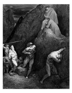 Gustave Dore's illustrations for Dante's Divine Comedy & John Milton's Paradise Lost