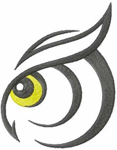 All Time Best Embroidery Machines Making Embroidery Easier Ideas. Free Machine Embroidery Designs, Embroidery Patterns, Owl Logo, Owl Eyes, Leather Art, Owl Art, Rock Crafts, Logo Design Inspiration, Doodle Art