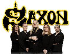 saxon band | ... Quinn and bass player Nibbs Carter of rock band Saxon, January 2007
