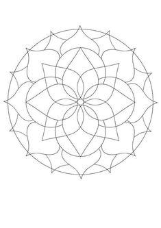 printable mandalas for beginners