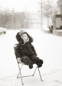 Children & Snow.