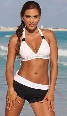 White Sport Bikinis