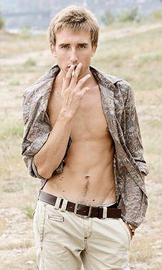 Guys who smoke, so gross.