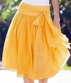 Schnittmuster einfacher Rock - Simple Skirt Pattern